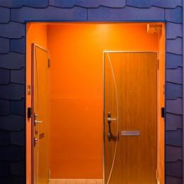建築家 (株)小木野貴光アトリエ一級建築士事務所の住宅事例「帰りたくなる、ほっとする玄関照明の家」