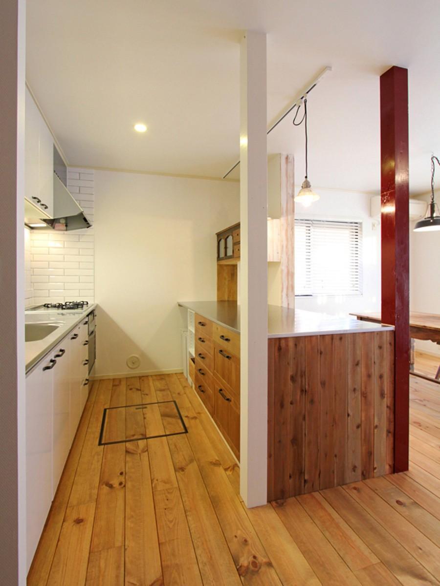 旭区 戸建てリノベーション (キッチン)