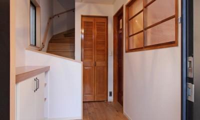 玄関ホール|旭区 戸建てリノベーション