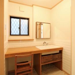 旭区 戸建てリノベーション (洗面室)
