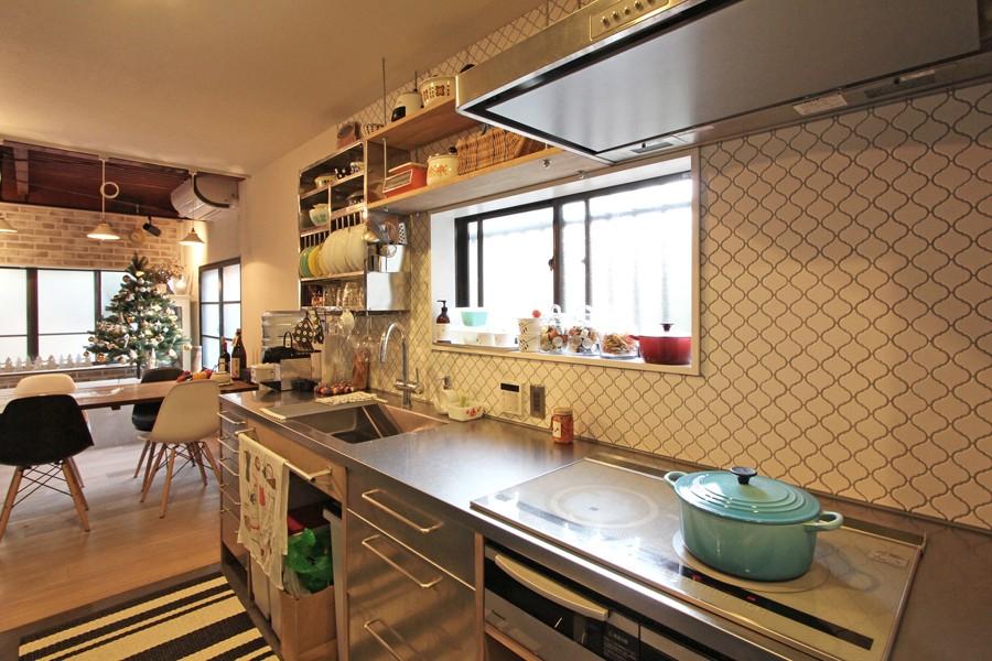 荻窪 戸建てリノベーション (キッチン)