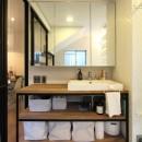荻窪 戸建てリノベーションの写真 洗面カウンター
