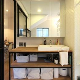 荻窪 戸建てリノベーション (洗面カウンター)