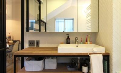 洗面カウンター|荻窪 戸建てリノベーション