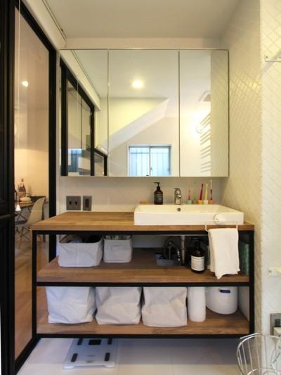 洗面カウンター (荻窪 戸建てリノベーション)