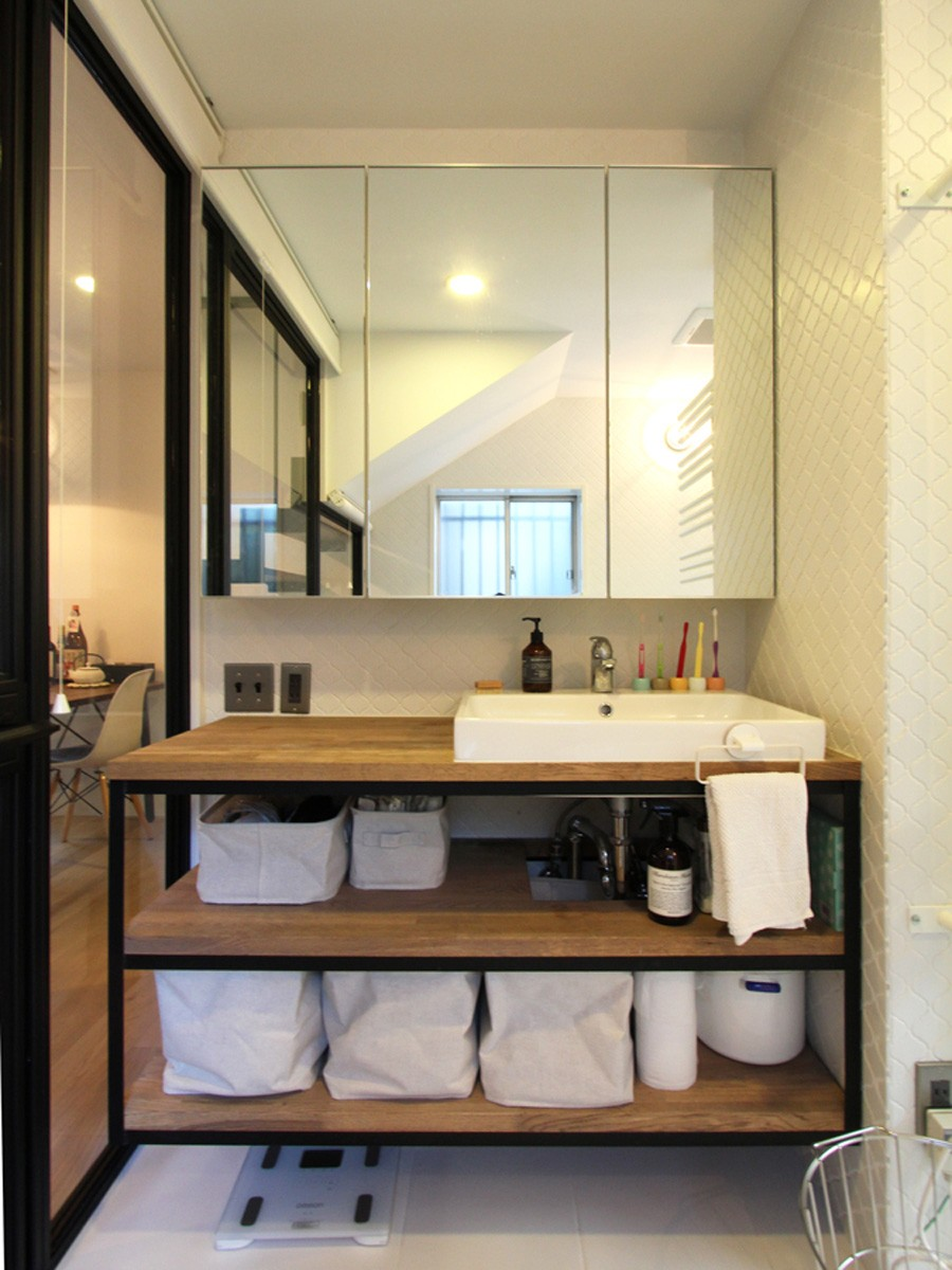 バス/トイレ事例:洗面カウンター(荻窪 戸建てリノベーション)