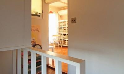 荻窪 戸建てリノベーション (階段ホール)