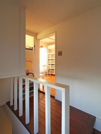 階段ホール (荻窪 戸建てリノベーション)