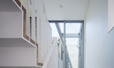 桑津の家 (階段)