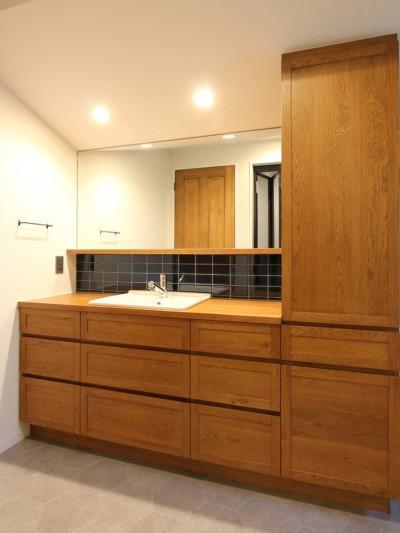 洗面室 (保土ヶ谷 戸建てリノベーション)