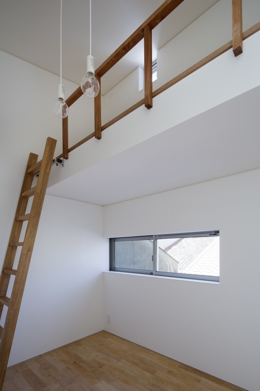 桑津の家の部屋 3階子供室