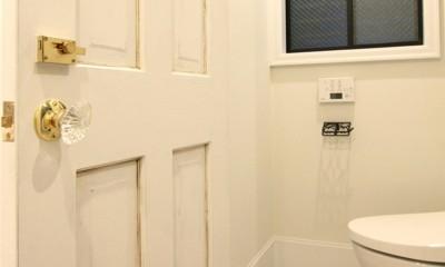 保土ヶ谷 戸建てリノベーション (トイレ)