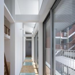 桑津の家 (3階廊下)