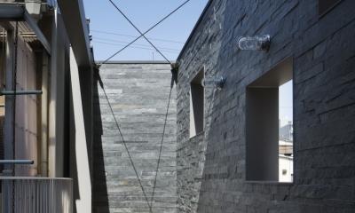 桑津の家 (2階ベランダ)