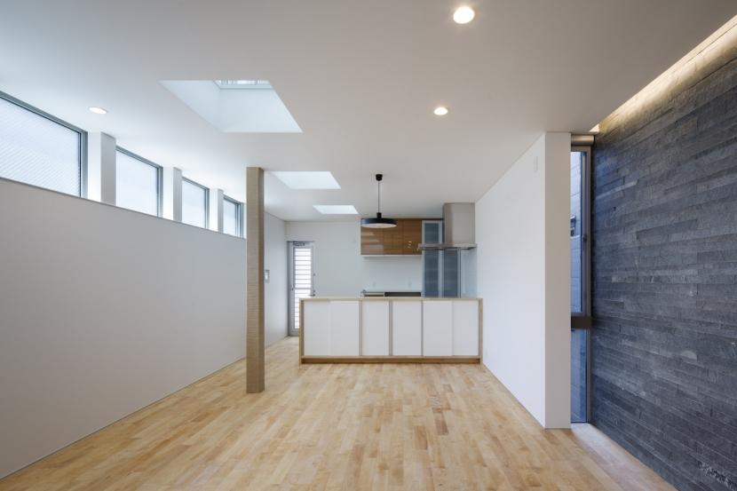 桑津の家の部屋 2階キッチン