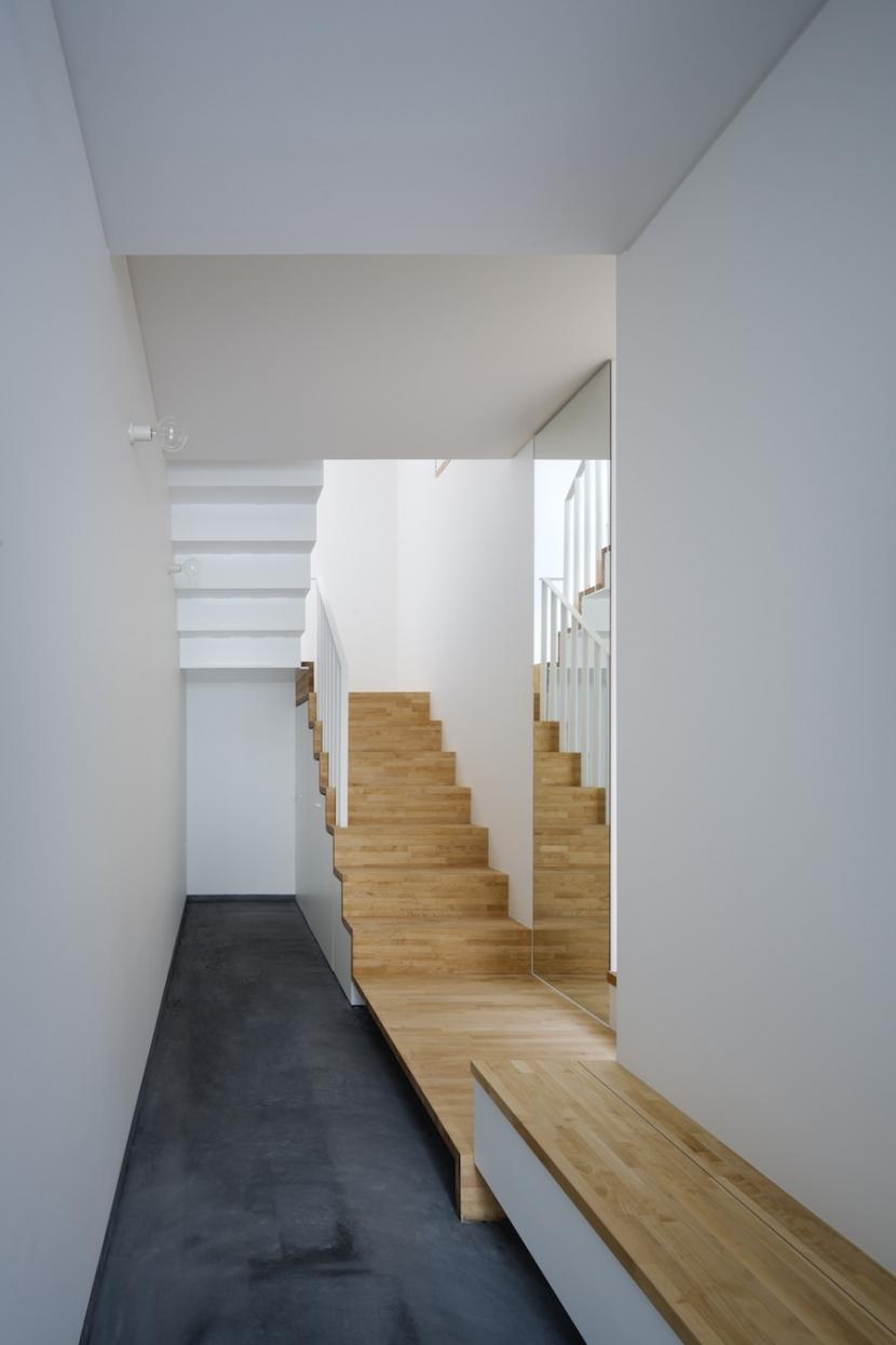 桑津の家の部屋 玄関土間