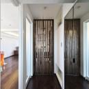 フリーキスワークスの住宅事例「収納でゆるやかに仕切るワンルームの暮らし ~中村区O様邸~」