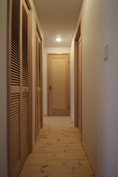 廊下 (中山谷の家)