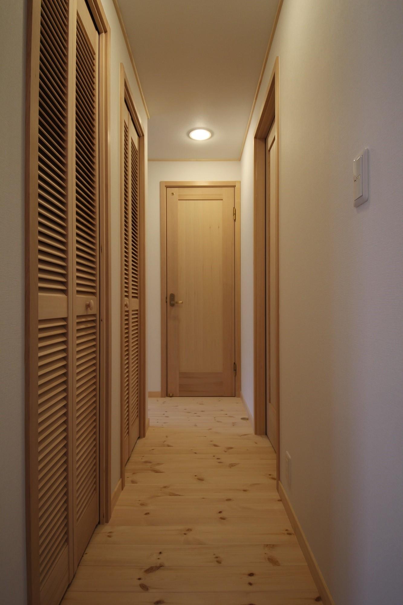 中山谷の家 (廊下)