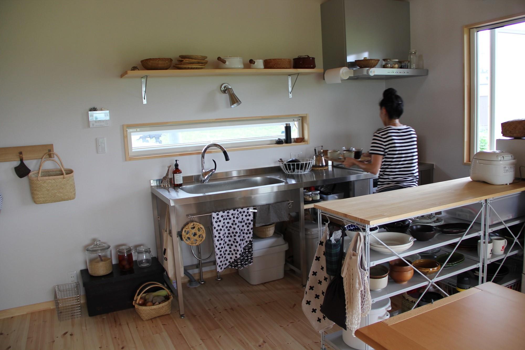 通町の家 (キッチン)