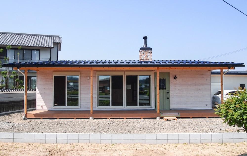西藪ノ内の家 (ファサード)