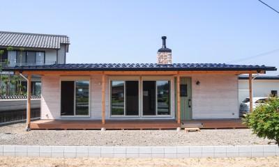 西藪ノ内の家