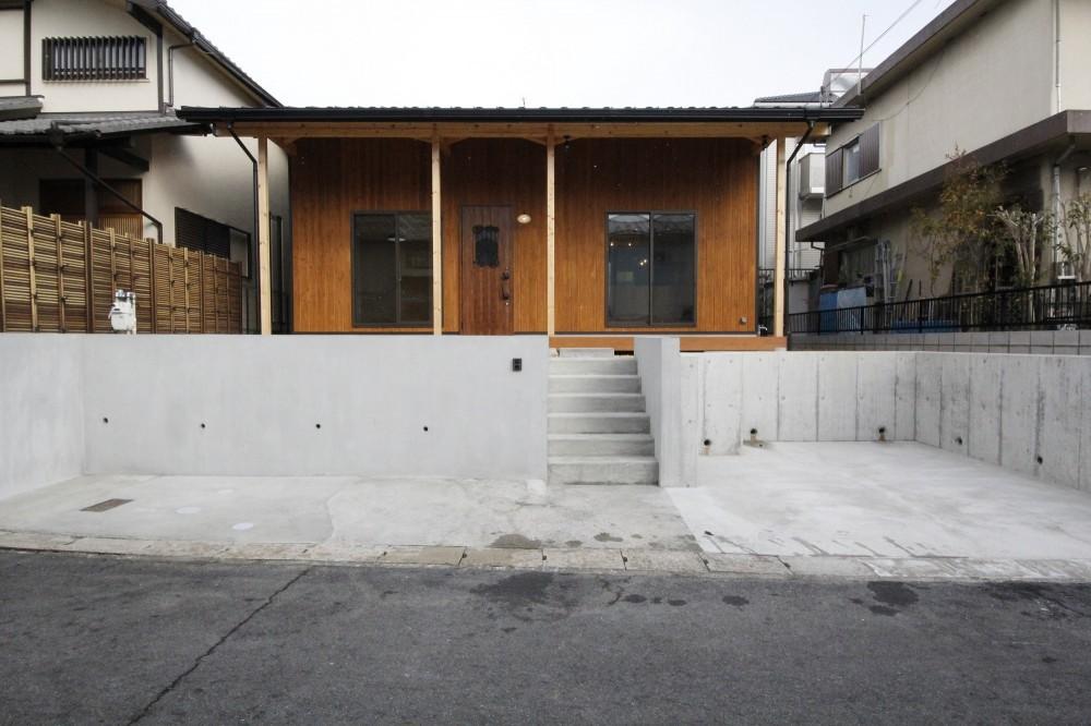 中山谷の家 (ファサード)