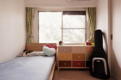 子供部屋 (光と風が通りぬける住まい 〜マンション断熱性能UP!!〜)