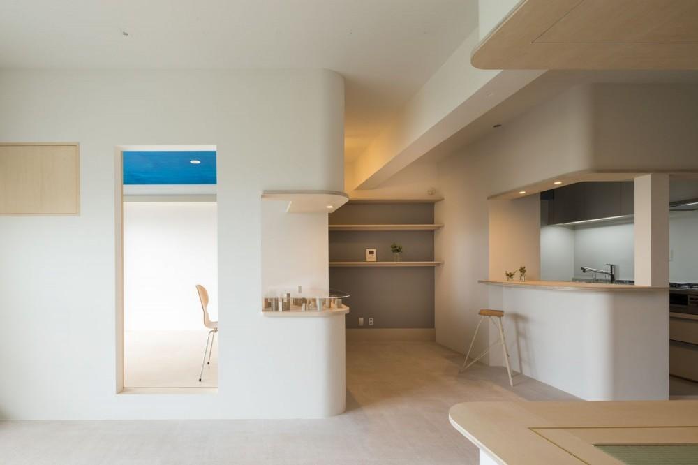 オープンルーム(リビング・ダイニング・縁側) (room ∩ rooms ― マンションリノベーション)