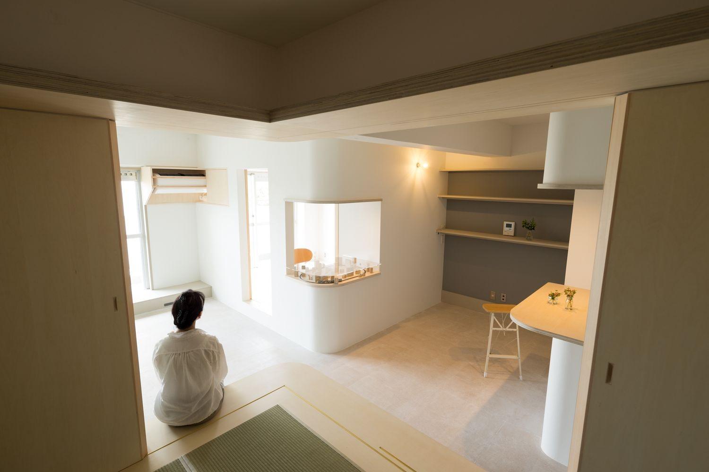 建築家:比護結子「room ∩ rooms ― マンションリノベーション」