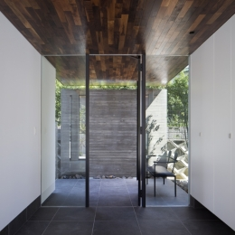 堺・槙塚台の家 (玄関)