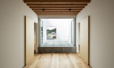 2階ホール(第2リビング)|米原の家