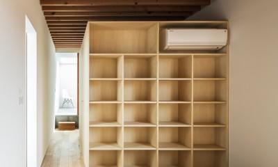米原の家 (寝室)