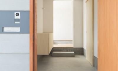 米原の家 (玄関)