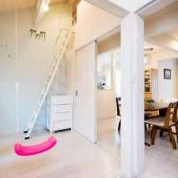 程よい距離感で過ごせる、二世帯住宅に『まるごと再生』