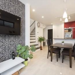 リノベーション・リフォーム会社 東急ホームズのまるごとリフォームの住宅事例「『まるごと再生』で実現!念願の対面キッチンと広々リビング」