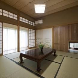 既存の良さを上手に活かし、趣のある和の家に『まるごとリフォーム』