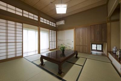 【和室】 (既存の良さを上手に活かし、趣のある和の家に『まるごとリフォーム』)