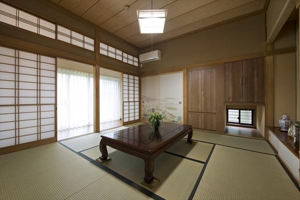 既存の良さを上手に活かし、趣のある和の家に『まるごとリフォーム』 (【和室】)