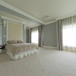 ホテルライクなベッドルーム
