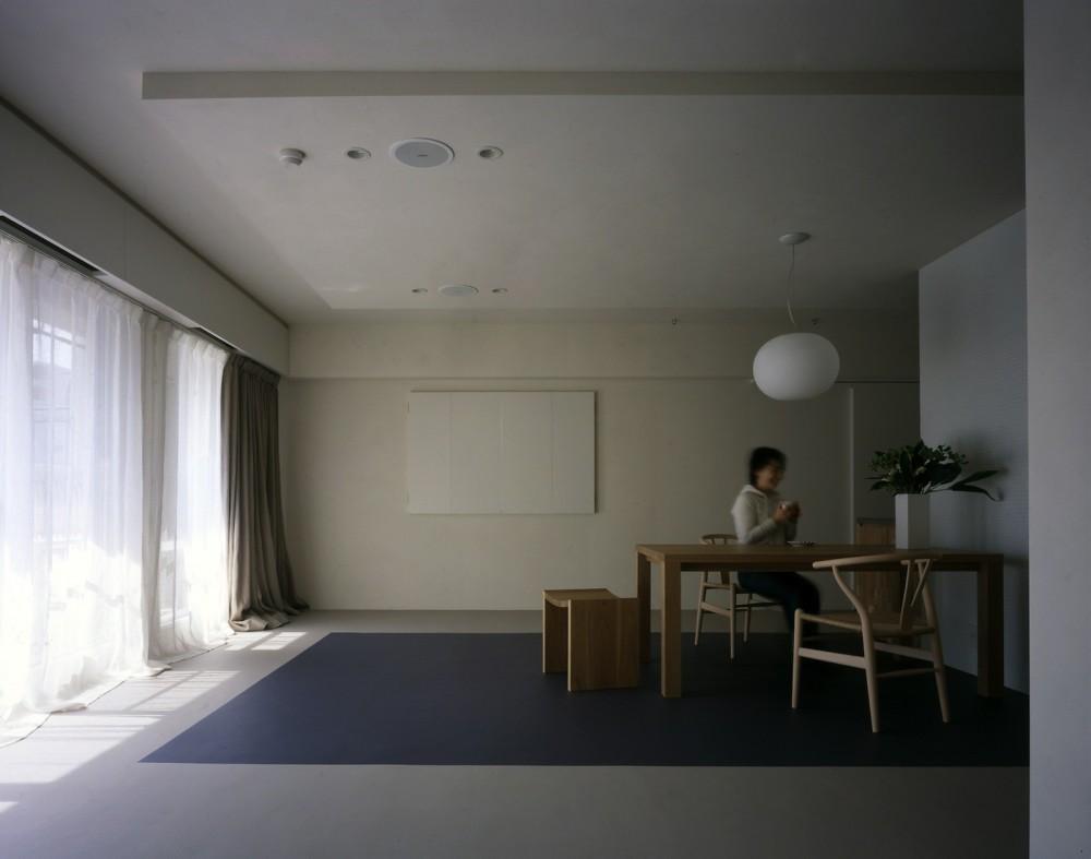 tsujioka house (リビングダイニング)