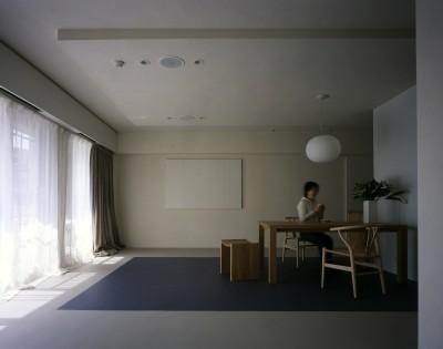 リビングダイニング (tsujioka house)