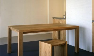 tsujioka house (この場にあわせた家具の制作)