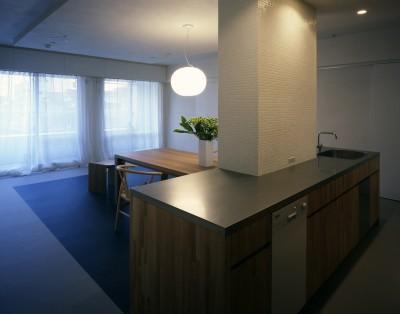 キッチン (tsujioka house)