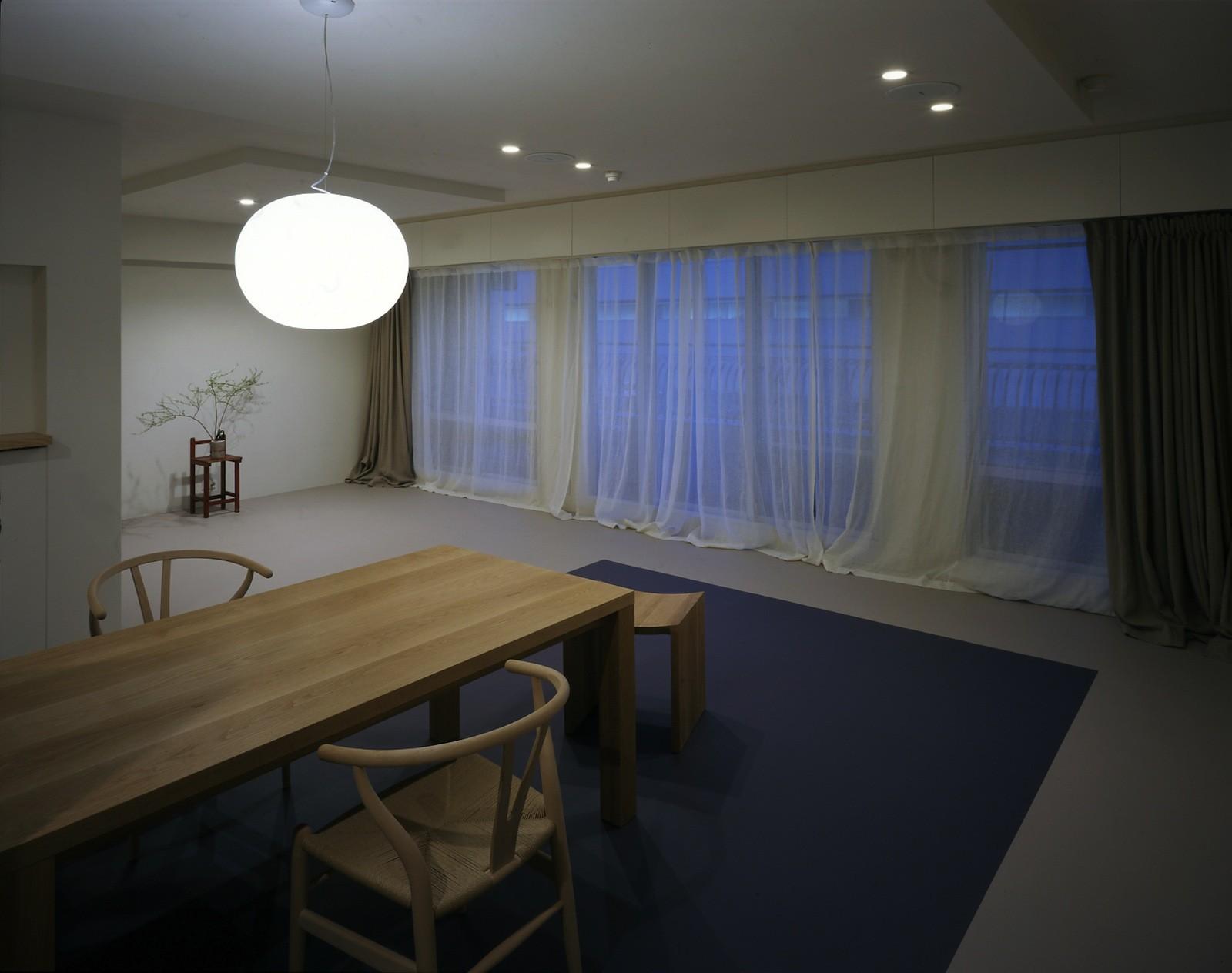 リビングダイニング事例:ダイニング(tsujioka house)