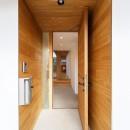 haus-flow/地域のオアシスとしての平屋中庭付き住宅の写真 haus-flow 玄関