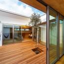 haus-flow/地域のオアシスとしての平屋中庭付き住宅の写真 haus-flow 中庭