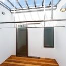 haus-flow/地域のオアシスとしての平屋中庭付き住宅の写真 haus-flow 洗濯室
