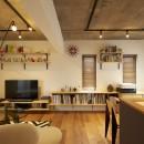 三井のリフォームの住宅事例「躯体を活かしたソリッドな空間。建築家夫妻が描く理想の住まい。」
