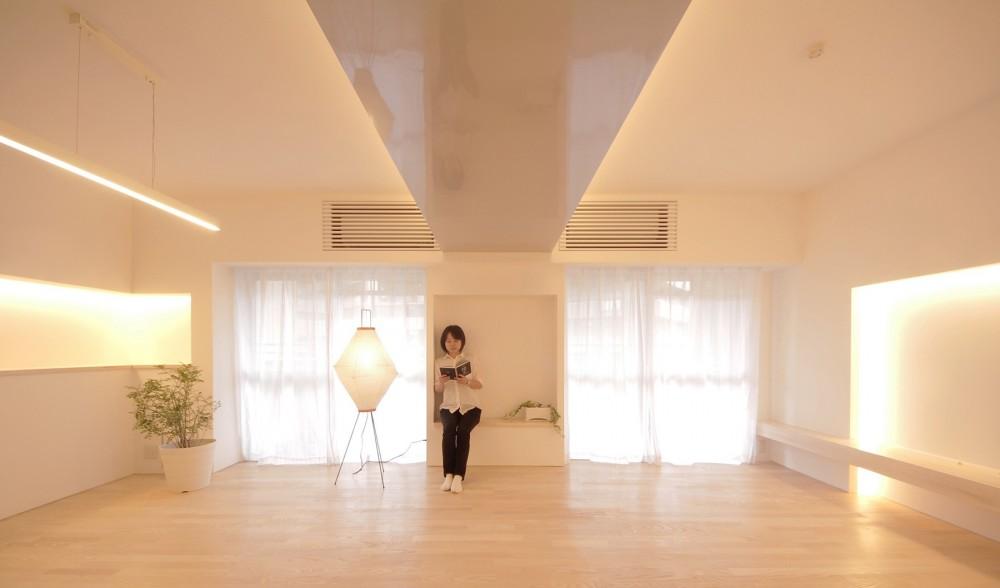 阿倍野の住宅 (リビングダイニング)